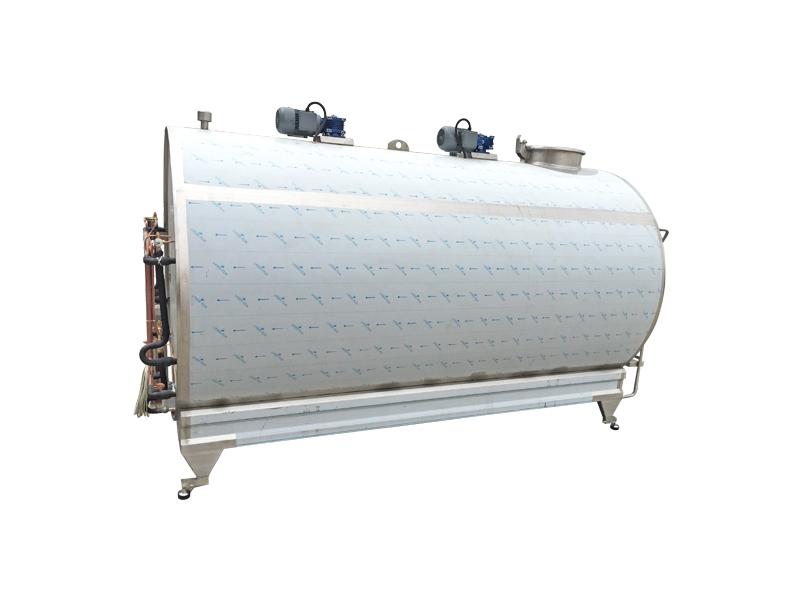 Yatay Tip Soğutma Tankları 5000 LT